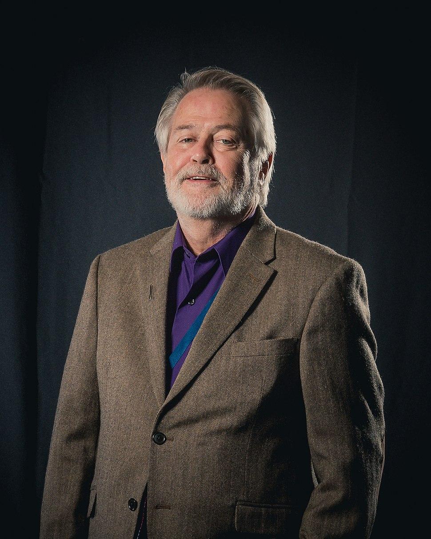 Portrait photoshoot at Worldcon 75, Helsini, before the Hugo Awards – Gary K. Wolfe