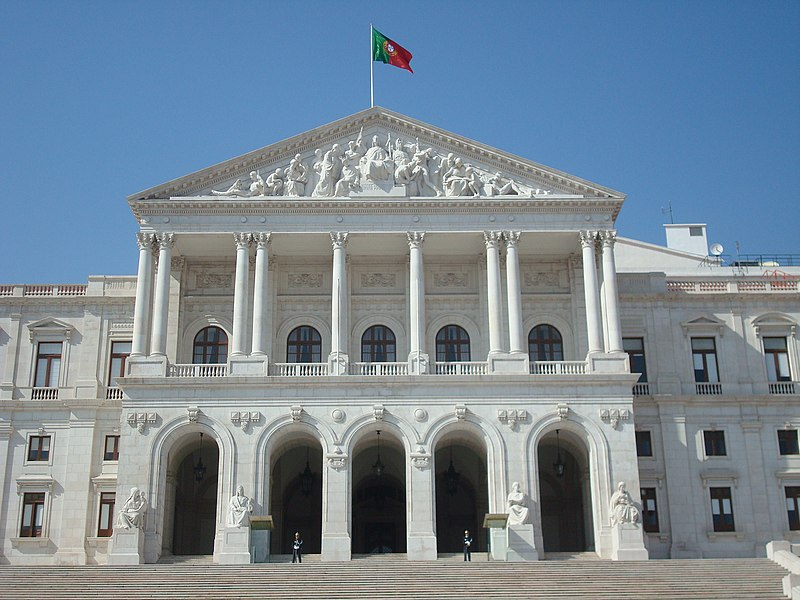 File:Portuguese Parliament building front fachade.jpg