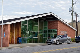 Claxton, Georgia - Claxton Post Office