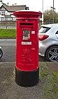 Post box at Old Roan Post Office.jpg