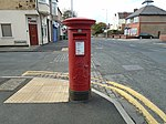 Post box on Grove Road, Wallasey.jpg