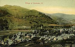 The village, early 1900s