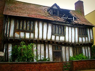 Places in Harry Potter - Leavesden Studios film set for Potter's cottage in Godric's Hollow