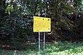 Praha, Lysolaje, cedule u parku.JPG