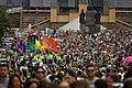 Praha, Prague Pride, účastníci na Václavském náměstí.jpg