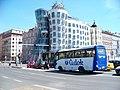 Praha, Tančící dům, Iveco Stratos ČEDOK.jpg