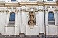 Praha 1, Malostranské náměstí 2-25, 556-29, Klášter jezuitský, s kostelem sv. Mikuláše a zvonicí 20170810 001.jpg