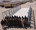 Predaja doniranega mostu v Afganistanu 2009 2.jpg