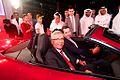 Premier Motors Unveils the Jaguar F-TYPE in Abu Dhabi, UAE (8739617655).jpg