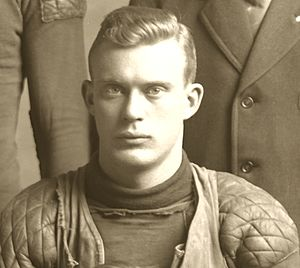 Prentiss Douglass - Prentiss Douglass cropped from 1908 Michigan football team photograph