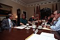 President Clinton participating in a Bosnia situation meeting - Flickr - The Central Intelligence Agency.jpg
