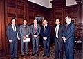 Primer Consejo del Banco Central Autónomo con el ministro Foxley.jpg