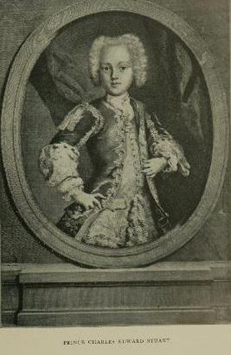 The March of the Guards to Finchley - Charles Edward Stuart was the remaining member in the House of Stuart, the line of descendants of James II, in 1745, when he headed the Second Jacobite Rebellion.