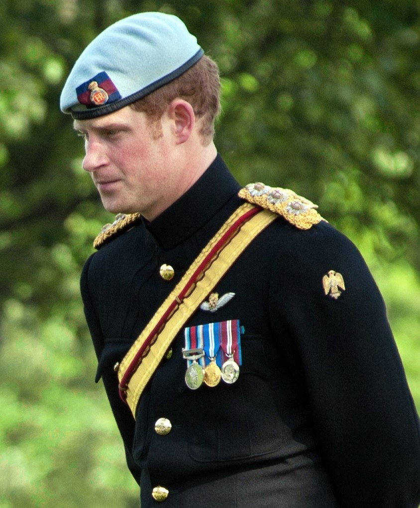 Prince Harry's medals