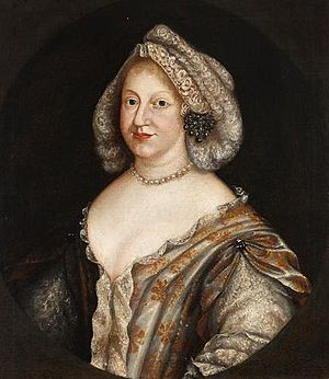 Princess Wilhelmine Ernestine of Denmark - Wilhelmina Ernestine of Denmark, later Electress of the Palatinate. Painting by Johann Georg Wagner.