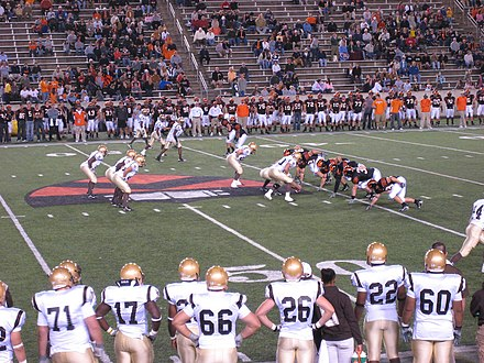Princeton vs. Lehigh football, September 2007 Princeton Tigers vs Lehigh.jpg