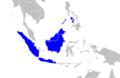 Prionailurus javanensis range map.png