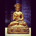 Probably Namkha Dorje, monk yogi of the Drukpa Kagyu Order Original title- Nam-mkha' rdo rje 18th century Copper and gold Western Tibet Folch Collection MEB CF 4684 @mculturesmon -Asia -Tibet.jpg