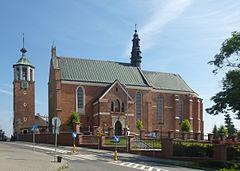 Kościół widok od południa