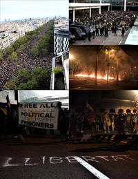 Protests by the ruling of the Judgment to the leaders of the Catalan independentist process.png