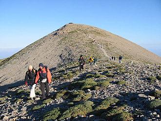 Mount Ida (Crete) - Image: Psiloritis, east ridge