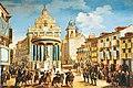 Puerta sol madrid carlos III lorenzo quiros.jpg
