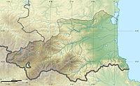 Pyrénées-Orientales department relief location map.jpg
