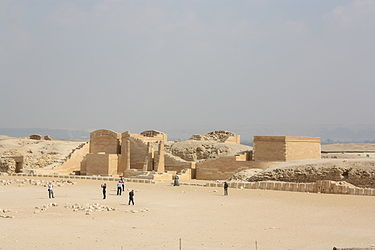 Pyramid of Djoser courtyard east.jpg