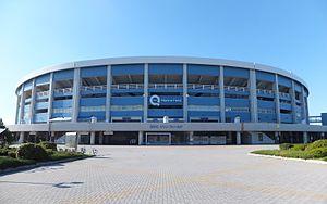 Zozo Marine Stadium - Image: QVC Marine Field, front