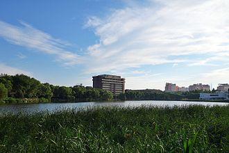 Tianjin University - Qingnian Lake of Tianjin University