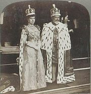 Queen Alexandra and King Edward VII in Coronation Robes.JPG