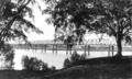 Queensland State Archives 319 Looking from Alexander Park towards the Railway Bridge Burnett River Bundaberg c 1931.png