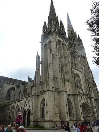 Roman Catholic Diocese of Quimper - Image: Quimper 22 Cathédrale
