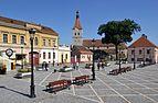 Râşnov (Barcarozsnyó, Rosenau) - market square.jpg