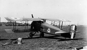 SPAD S.VII - British-built SPAD S.VII of the RFC