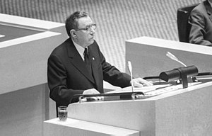 Andrei Gromyko -  Gromyko speaking at the Conference on Security and Cooperation in Europe, in 1984