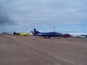 Royal International Air Tattoo - RIAT 2008 following cancellation