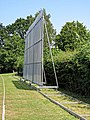 Radlett Cricket Club sight screen, Hertfordshire, England 2.jpg