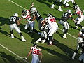 Raiders on offense at Atlanta at Oakland 11-2-08 12.JPG