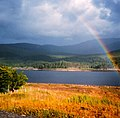 Rainbow over Loch Laggan - geograph.org.uk - 1197526.jpg