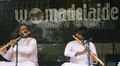 Rajendra Prasanna playing at Womad festival.png