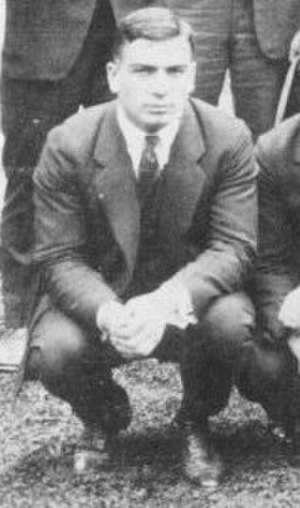 Ralph Vince - Vince prior to the 1922 Rose Bowl