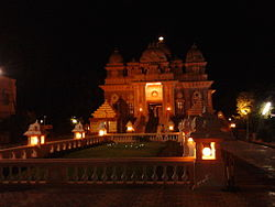 Ramakrishna Math, one of the main landmarks of Mandaveli