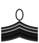Rank insignia of sergente maggiore of the Italian Army (1917).png
