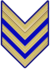 Rank insignia of sergente maggiore paracadutista of the Italian Army (1941).png