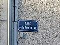 Rans - Rue de la Fontaine (plaque).JPG
