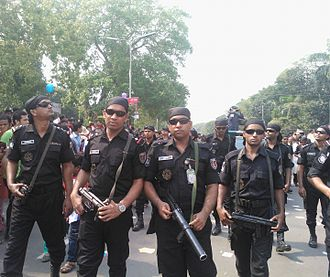 Human rights in Bangladesh - Members of the Rapid Action Battalion