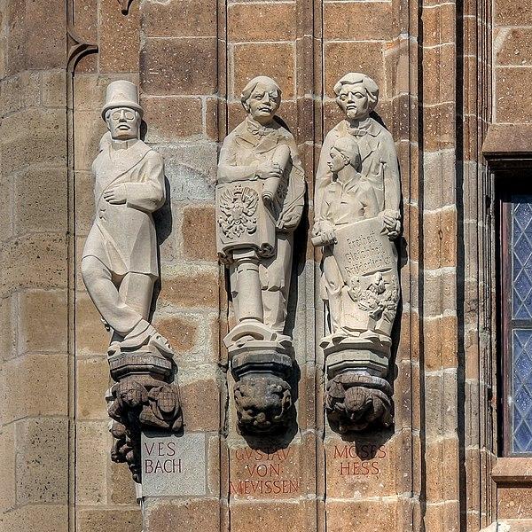 Rathausturm Köln: Offenbach - Mevissen - Hess
