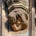 Rathausturm Köln - Walter Bader als Konsolenfigur unterhalb von Albertus Magnus (6134-36).jpg
