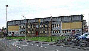 Ravenscraig Stadium - The stadium front